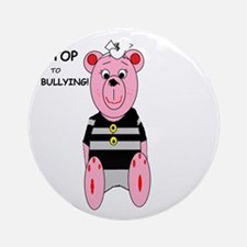 Say Stop to Bullying Ornament (Round)