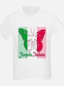 Farfalla Italiana Kids T-Shirt