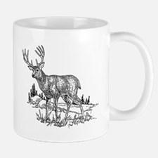 Stag Sketch Mugs