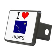 I Love HAINES Alaska Hitch Cover