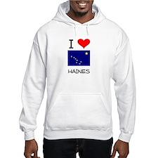 I Love HAINES Alaska Hoodie