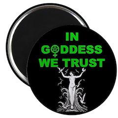 Goddess trust Magnet
