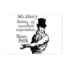 Cute Mr darcy Postcards (Package of 8)