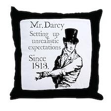 Cute Austen Throw Pillow