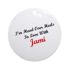In Love with Jami Ornament (Round)
