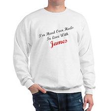 In Love with James Sweatshirt