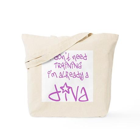 DivaBaby Tote Bag