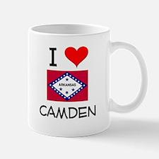 I Love CAMDEN Arkansas Mugs