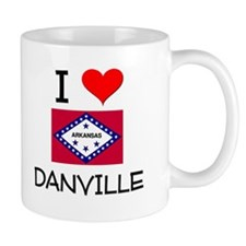 I Love DANVILLE Arkansas Mugs