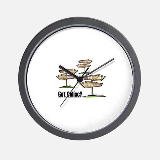 Got Celiac? Wall Clock