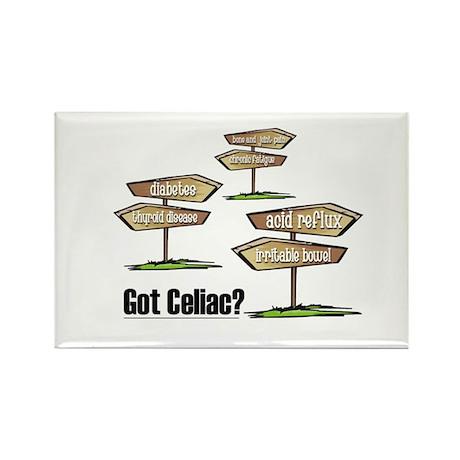 Got Celiac? Rectangle Magnet (10 pack)
