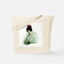 Knitting - Victorian Knitter Tote Bag