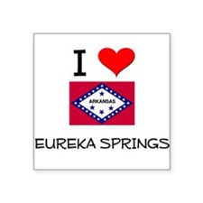 I Love EUREKA SPRINGS Arkansas Sticker