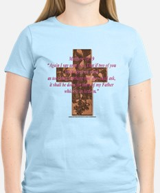 Matthew 18:19 Women's Pink T-Shirt