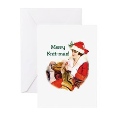 Merry Knit-mas Greeting Cards (Pk of 10)