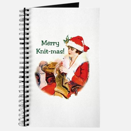 Merry Knit-mas Journal