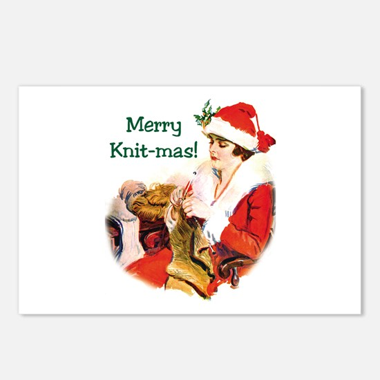 Merry Knit-mas Postcards (Package of 8)