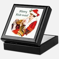Merry Knit-mas Keepsake Box