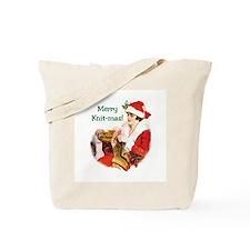 Merry Knit-mas Tote Bag