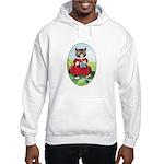 Knittting Kitty Hooded Sweatshirt