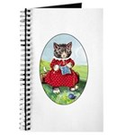 Knittting Kitty Journal