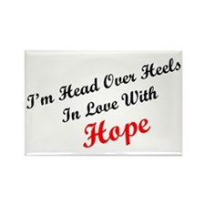 In Love with Hope Rectangle Magnet