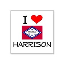I Love HARRISON Arkansas Sticker