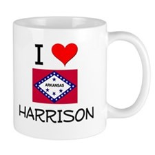 I Love HARRISON Arkansas Mugs