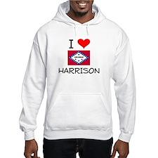 I Love HARRISON Arkansas Hoodie