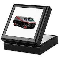 Retro Van. Keepsake Box