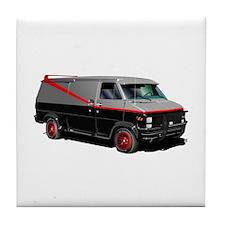 Retro Van. Tile Coaster
