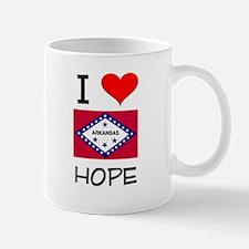 I Love HOPE Arkansas Mugs