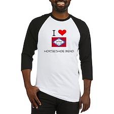 I Love HORSESHOE BEND Arkansas Baseball Jersey