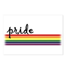 Pride Rainbow Postcards (Package of 8)
