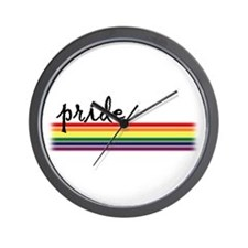 Pride Rainbow Wall Clock