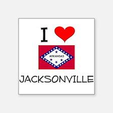I Love JACKSONVILLE Arkansas Sticker