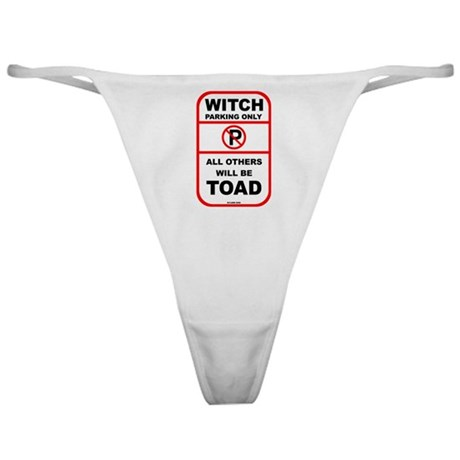 Witch Parking Classic Thong