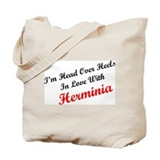 In Love with Herminia Tote Bag