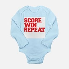 Score. Win. Repeat. Body Suit
