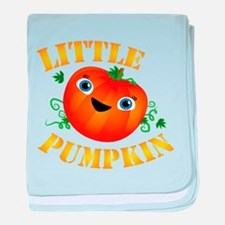 Little Pumpkin baby blanket
