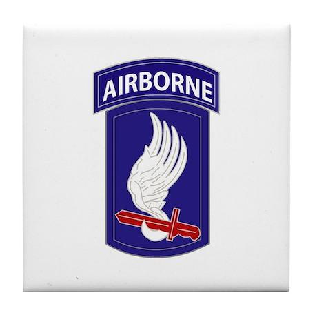173rd AIRBORNE Tile Coaster
