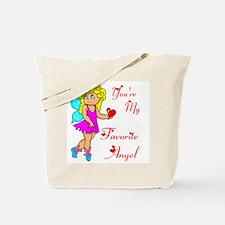 FAVORITE ANGEL Tote Bag