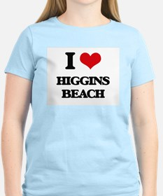 I Love Higgins Beach T-Shirt