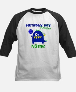 Birthday Boy Monster Baseball Jersey