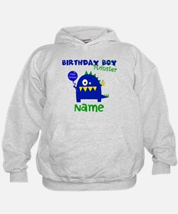 Birthday Boy Monster Hoodie
