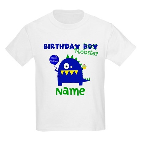 birthday boy monster tshirt