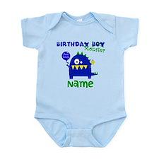 Birthday Boy Monster Body Suit