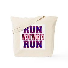 Run Wentworth Run Tote Bag
