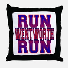 Run Wentworth Run Throw Pillow