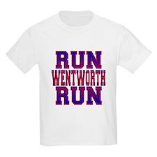 Run Wentworth Run Kids T-Shirt